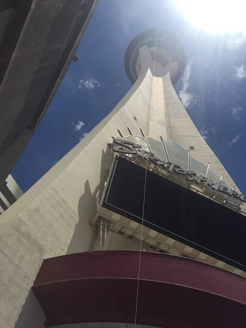 Stratosphere Tower and Casino Las Vegas - 855 foot