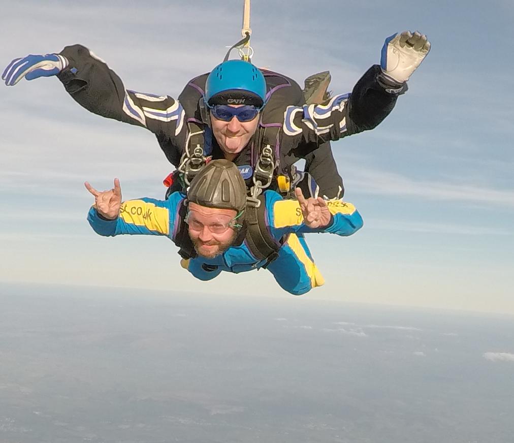 Tandem Skydive at Skydive North West