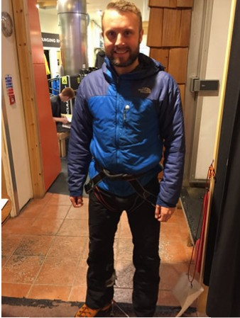 Gaz ice climbing outfit