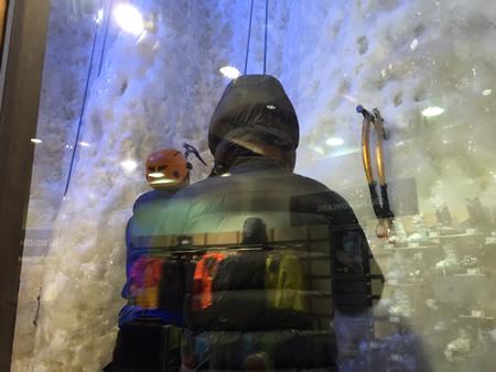 Ice climbing Manchester