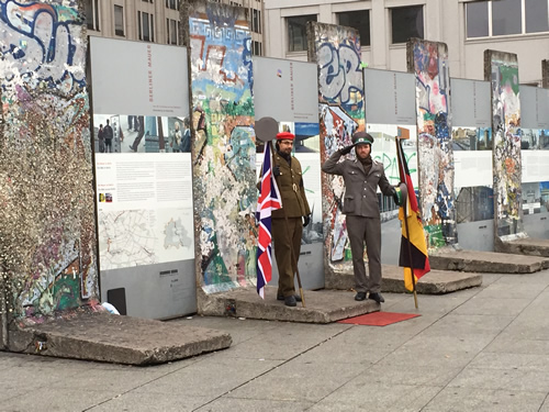 Segments of Berlin Wall