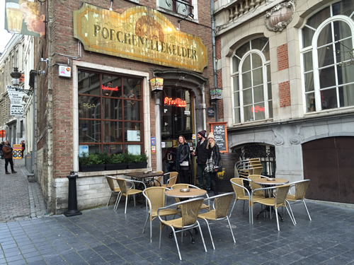 Poechenellekelder - a highly recommended Brussels Bars