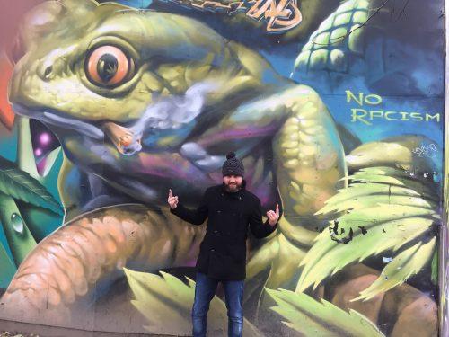 Graffiti at Freetown Christiania