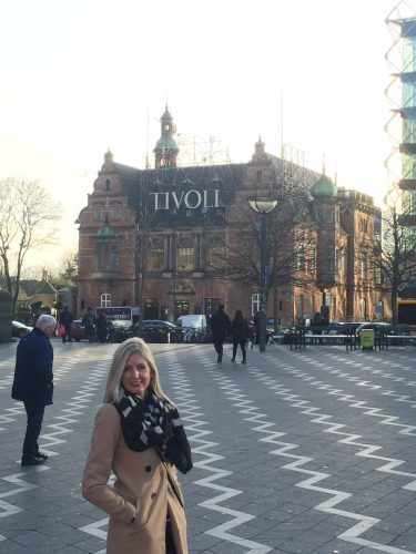 View of Tivoli from City Hall square