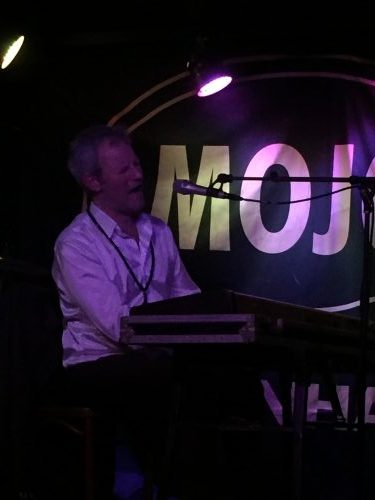 The artist at Mojos blues bar - sung in perfect English, but talked in Danish between sets. This was occasionally awkward as we were in the front row and he would stare at us expecting some kind of response as we stared blankly back