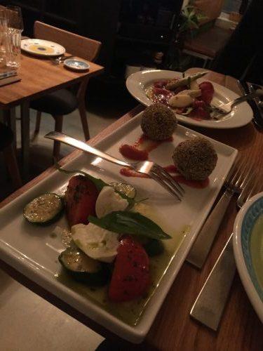 Beautiful food at Che Fe Bio Trattoria