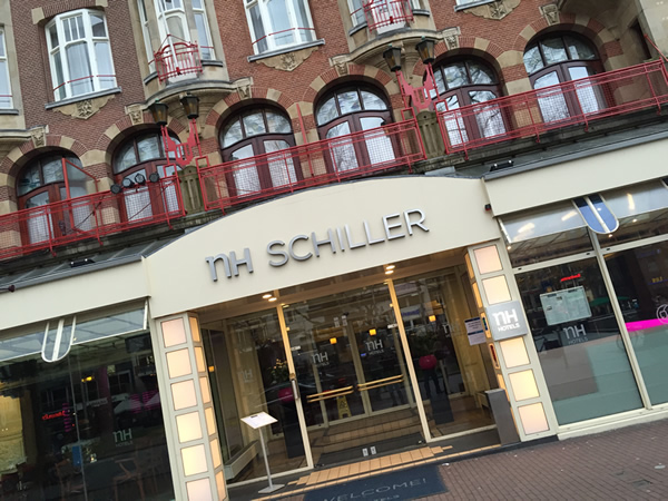 NH Amsterdam Schiller on Rembrandt Square - good value hotel in great location