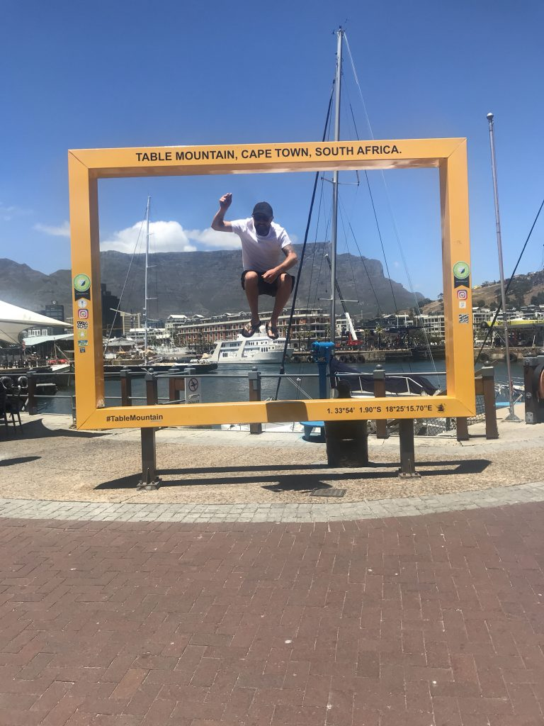 Cheers Cape Town it has been emotional!
