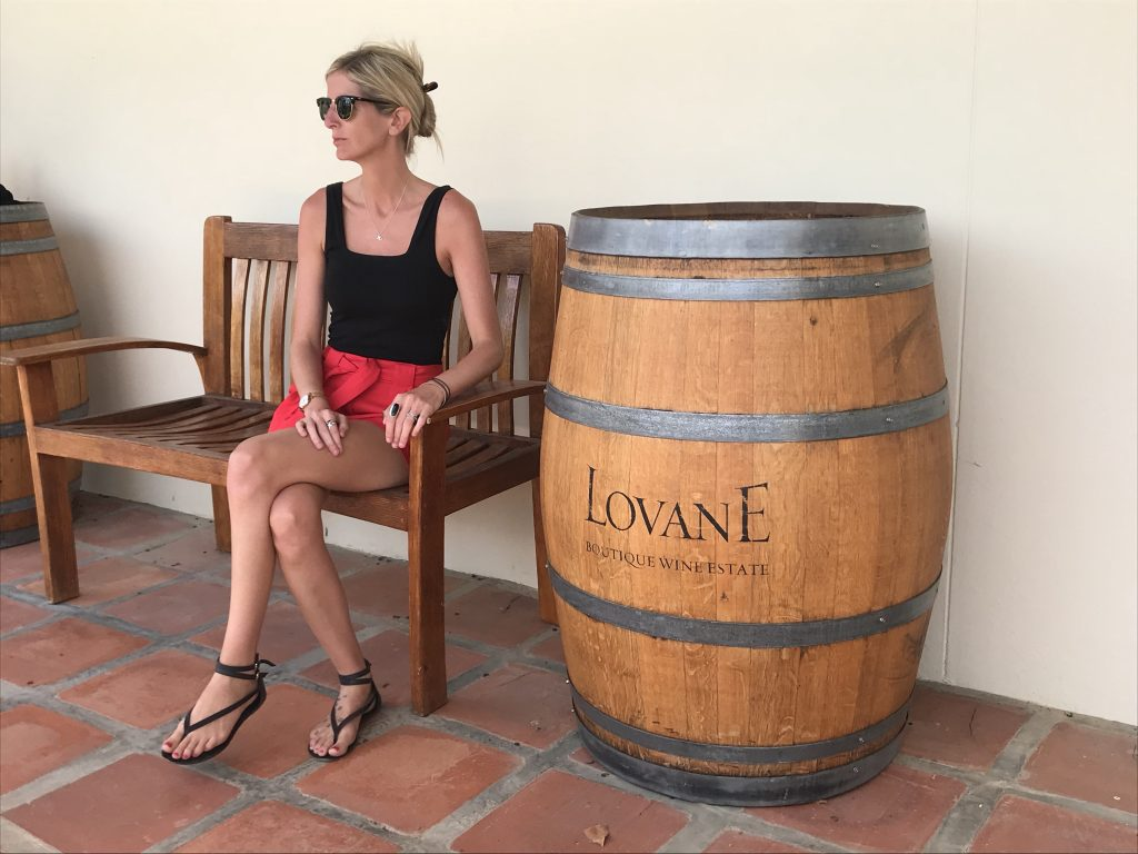 Laura dreaming of living in a beautiful setting like Lovane Boutique Wine Estate