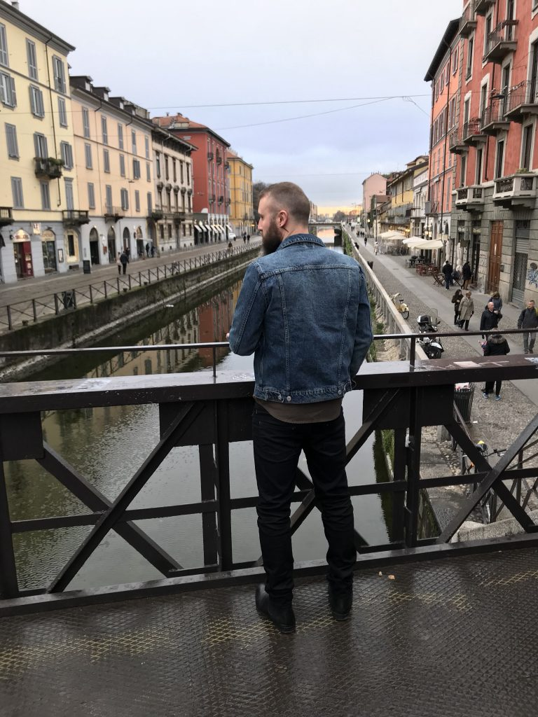 Navigli is a hip area to eat and drink in Milan
